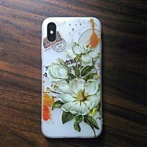 Accessories - iphone X 3D Floral Case